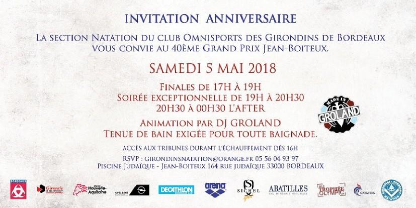 As Ambares Natation 40e Grand Prix Jean Boiteux A Piscine Judaique