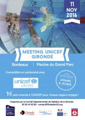 As ambar s natation meeting unicef bordeaux piscine du for Piscine bordeaux grand parc