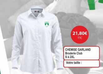 CHEMISE GARLAND (Dames)