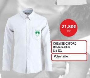 CHEMISE OXFORD (Homme)
