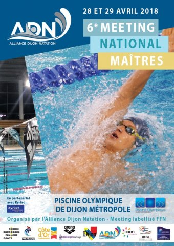 Alliance Dijon Natation 6e Meeting National Des Maitres