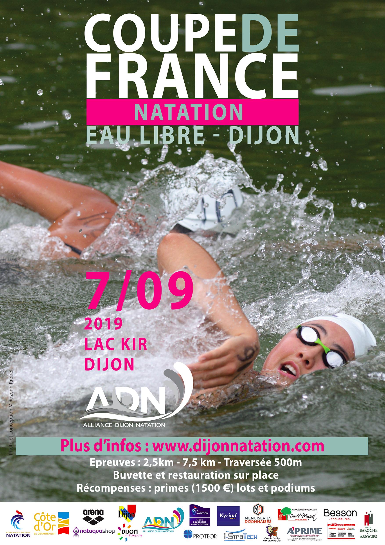 coupe de France Eau Libre Dijon