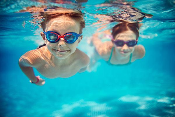 enfants natation
