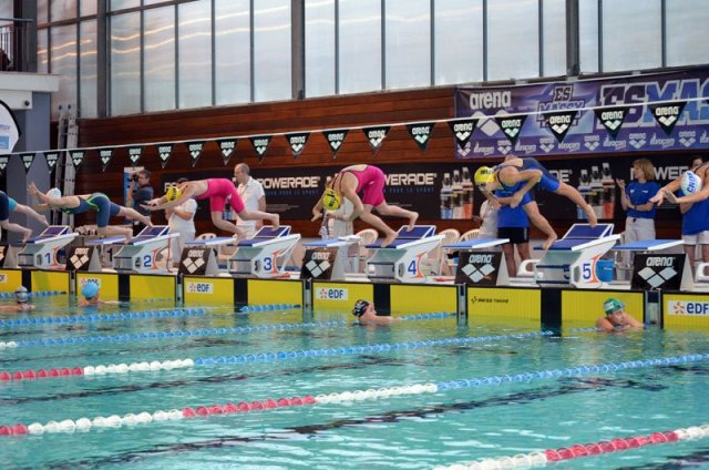 Cn melun val de seine meeting national de massy etape 1 for Aquabiking piscine saint germain en laye