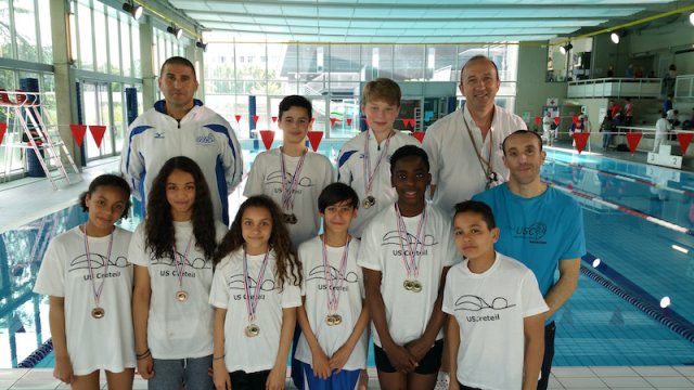 U s creteil natation actualit s abcnatation for Piscine youri gagarine