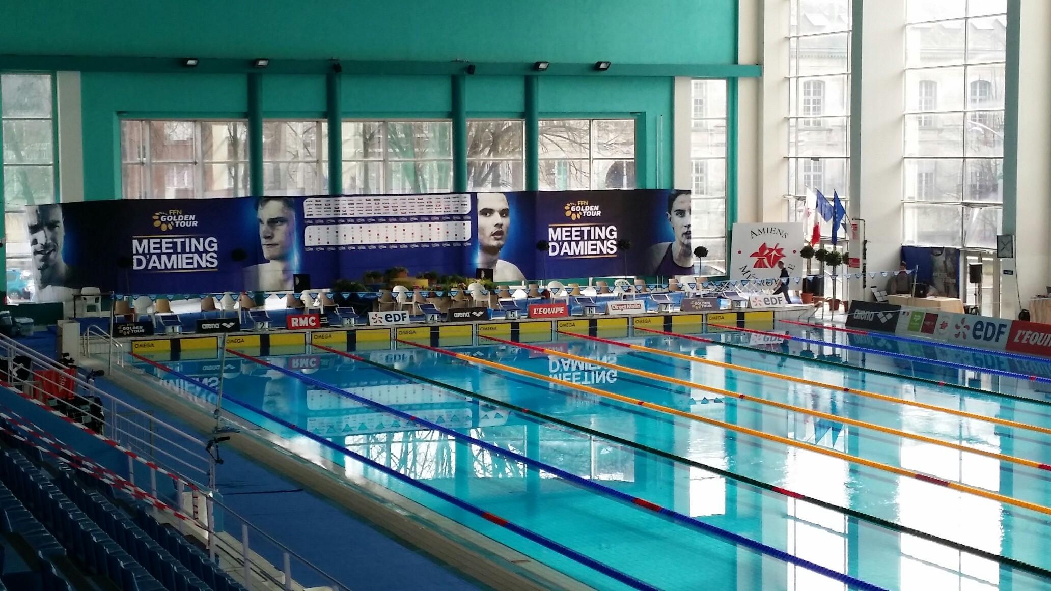 U s creteil natation 4 finales pour 3 nageurs au golden for Construction piscine amiens