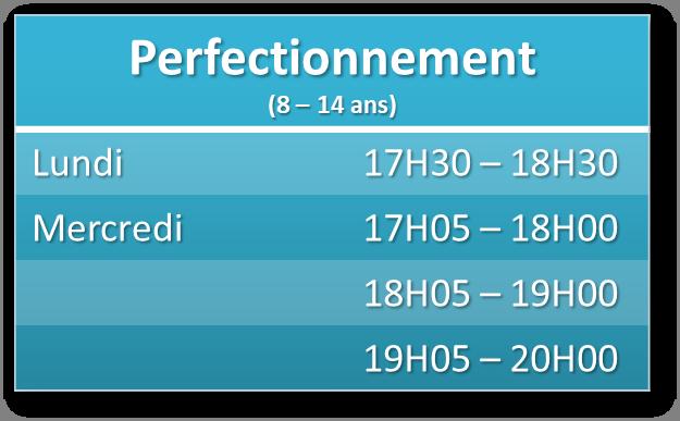 Perfectionnement