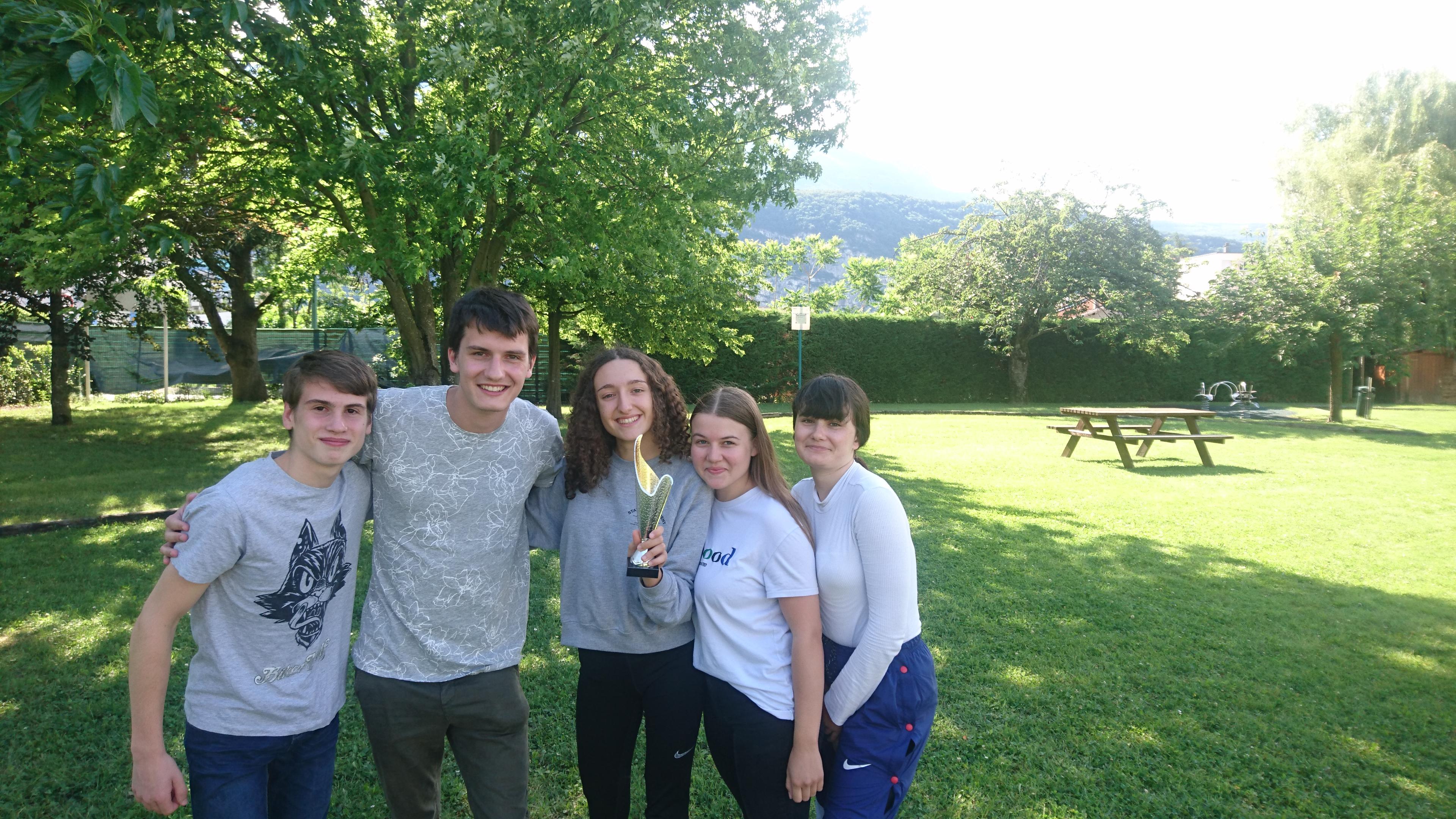 Les jeunes de Bourg-en-Bresse