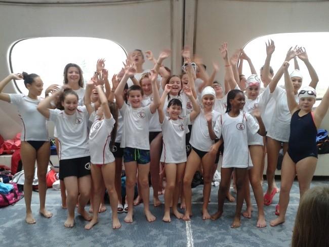Equipe Jeunes UJSM Natation