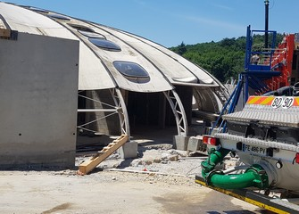 travaux piscine juin 2020