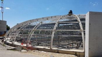 travaux piscine juillet 2020