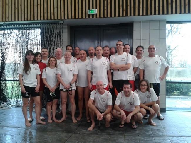 Equipe maîtres UJSM Natation
