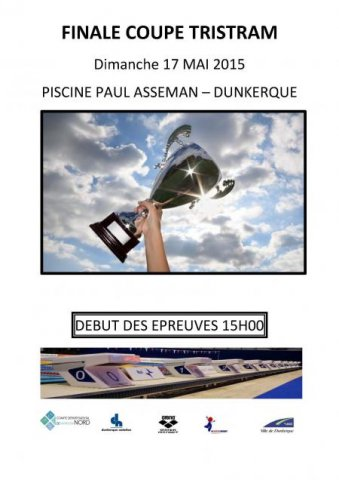 Dauphins wattrelos natation finale de la coupe tristram for Piscine paul asseman