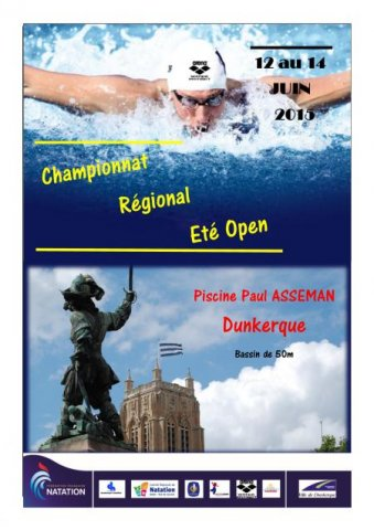 Dauphins wattrelos natation champ regional et for Piscine paul asseman