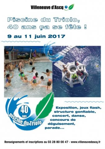 Avan villeneuve d 39 ascq annulation s ances 40 ans for Piscine triolo