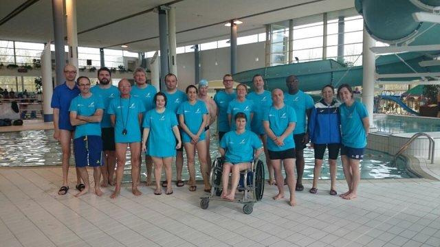 Saumur natation 15 me meeting des ma tres et handi for Piscine 15eme