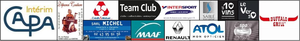 Bandeau sponsors