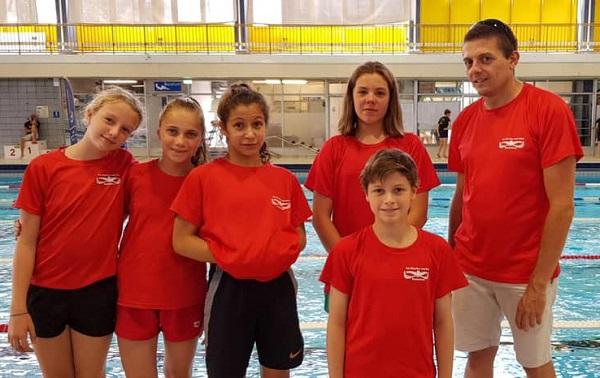 Anne-Lise, Agathe, Léonie, Arnaud, Louis
