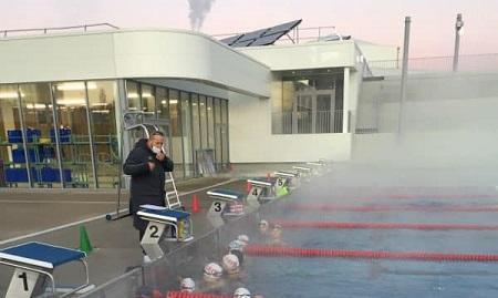 Dernier entrainement de l'année des nageurs de la roche sur yon natation