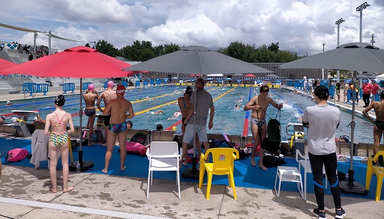 depart plot meeting Arena La roche sur yon natation