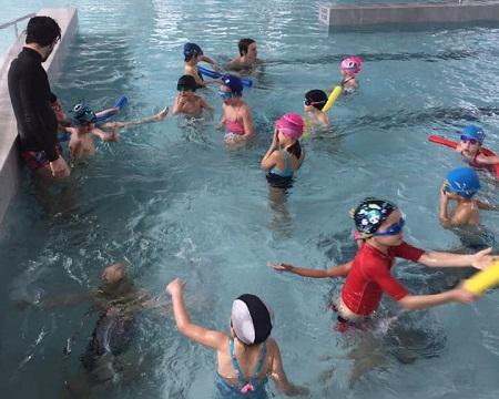 reprise ecole de natation 2021