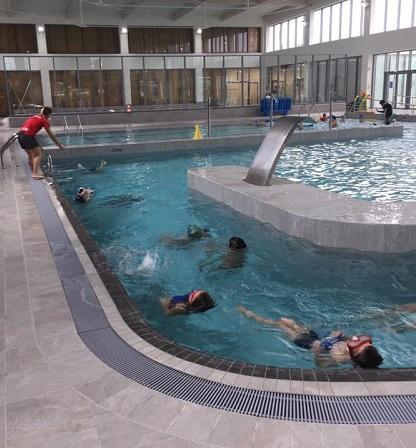exercices ecole de natation