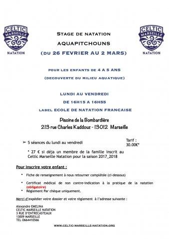 Marseille celtic natation accueil abcnatation for Piscine la bombardiere