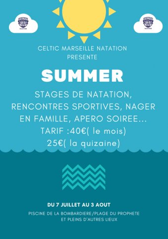 Marseille celtic natation summer by celtic abcnatation for Piscine bombardiere