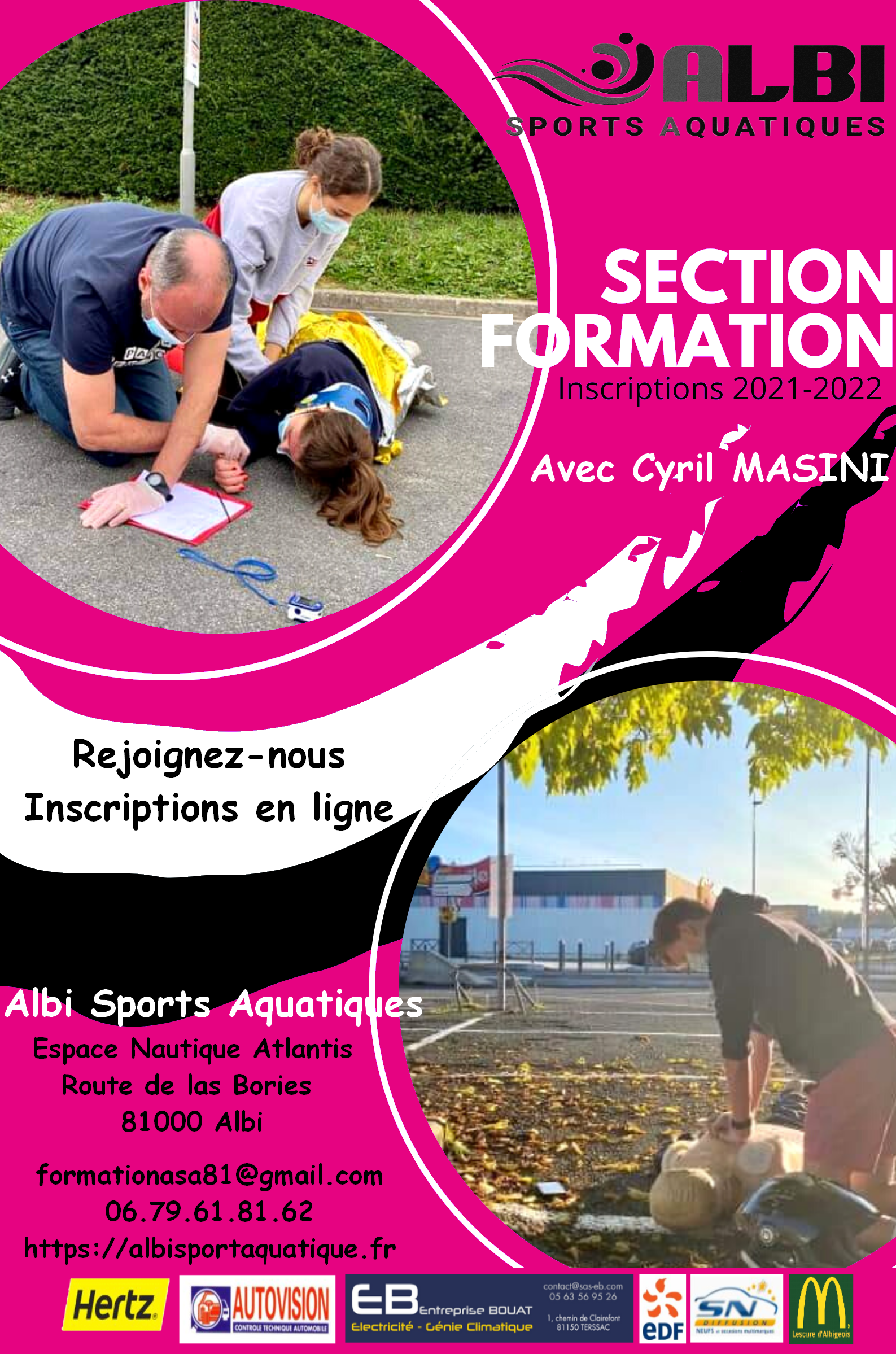 Affiche Section formation