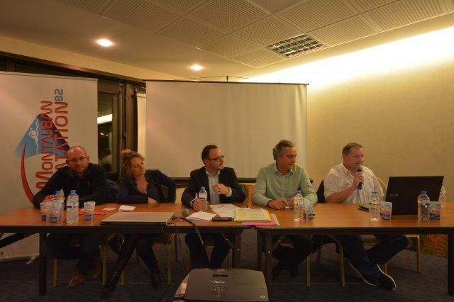 Montauban natation le bureau et le comité directeur du mn82